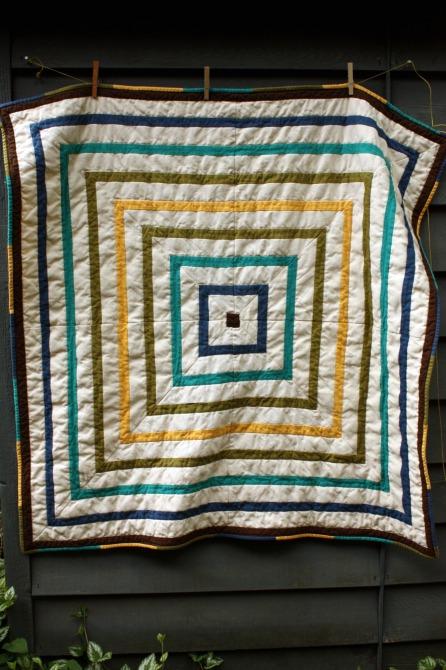 mitre square quilt