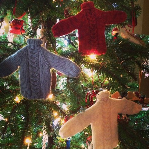 ornament sweaters
