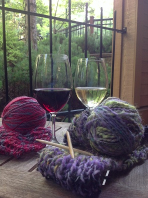 wine and yarn pairings