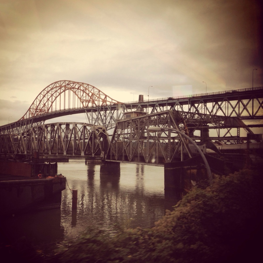 crossing the mighty fraser river