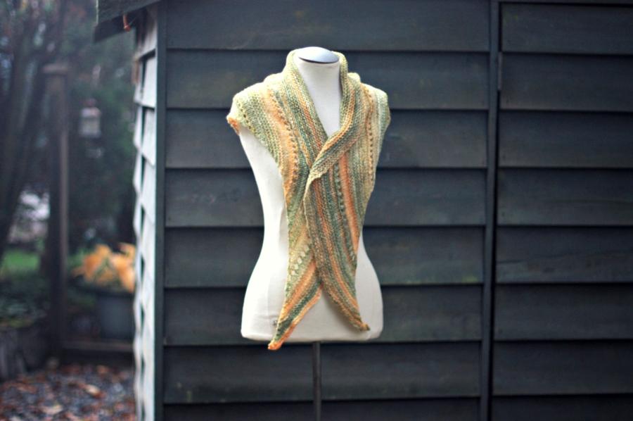 textured shawl 6