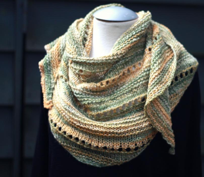 textured shawl 7