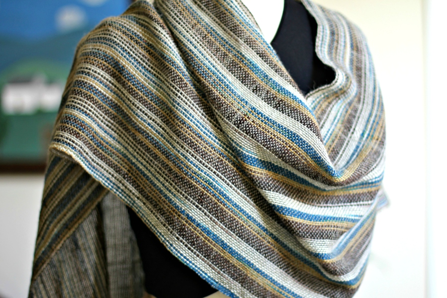 desert evening shawl2