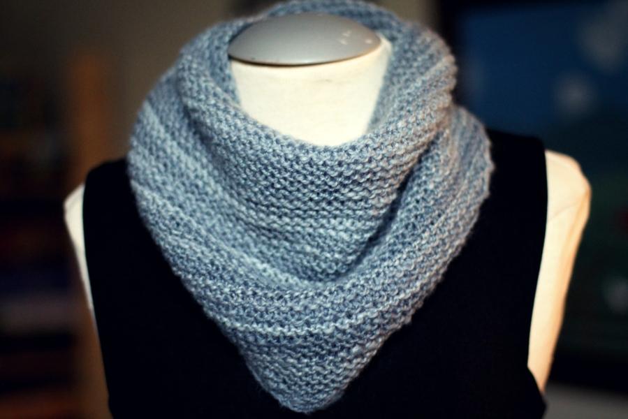 november skies shawlette