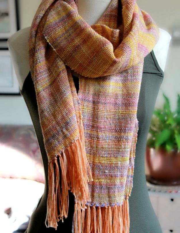 spring woven scarf5