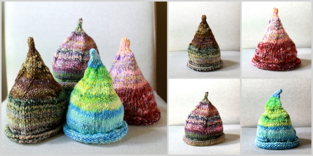 knit bit hat collage