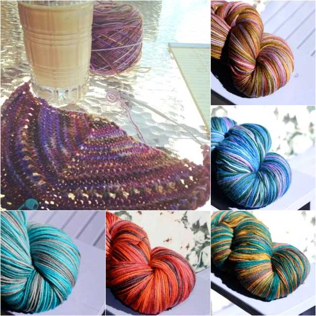 missy yarn collage