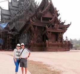 sanctuary of truth, pattaya thailand