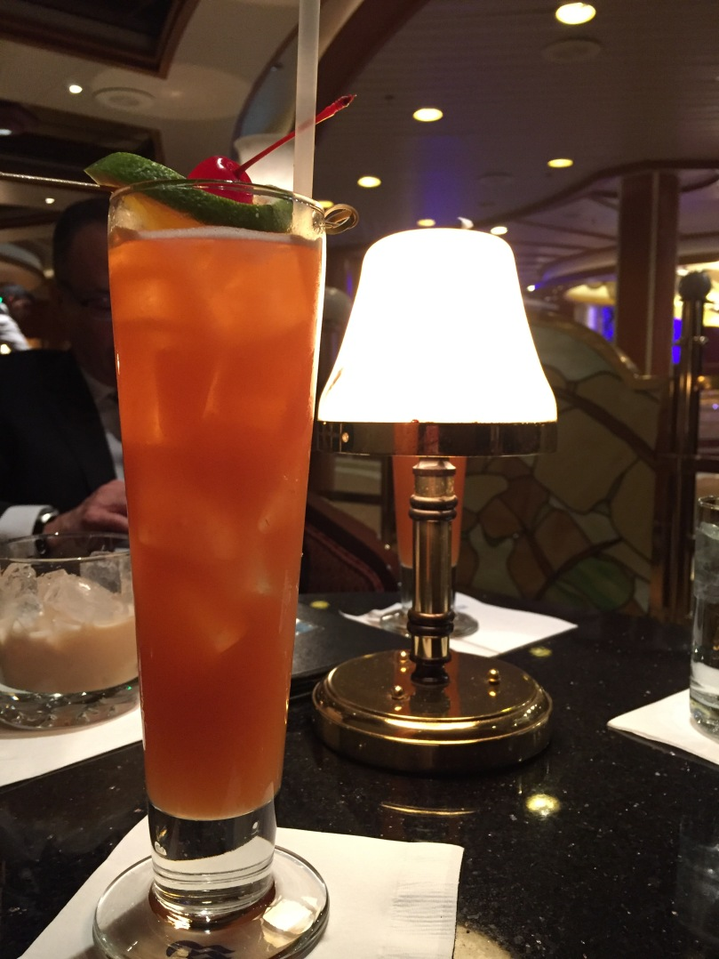 Fancy drink of the day