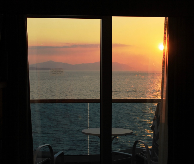 I miss these views. Imagine watching this from your bed!